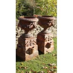 Vintage Terracotta Garden Urns