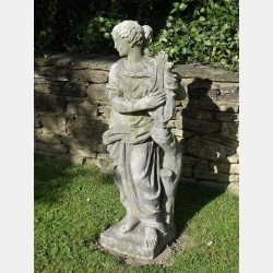 Weathered Classical Garden Statue
