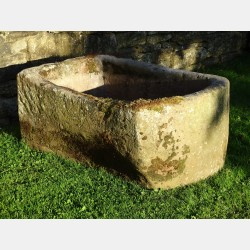 Large Stone Pump Trough