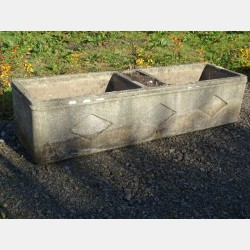 Weathered Concrete Trough