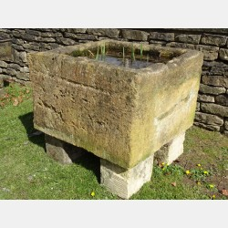 Antique Stone Water Trough