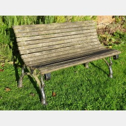Antique Garden Bench