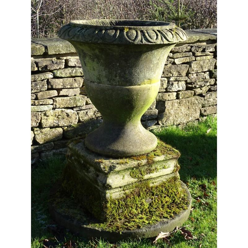 Antique Sandstone Urn