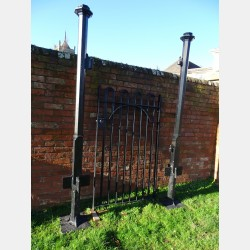 Salvaged Gate and Posts