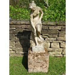 Weathered Venus Statue
