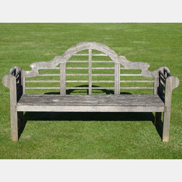 Weathered Lutyens Bench