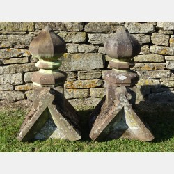 Salvaged Gable End Finials