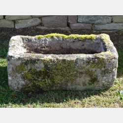 Antique Granite Trough