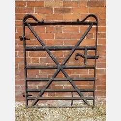 Vintage Wrought Iron Gate