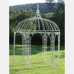 Vintage Wrought Iron Gazebo