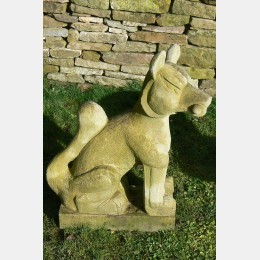Weathered Stone Fox