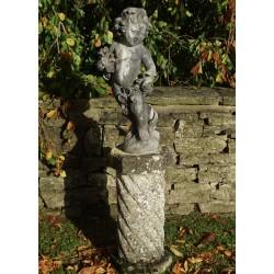 Antique Lead Statue