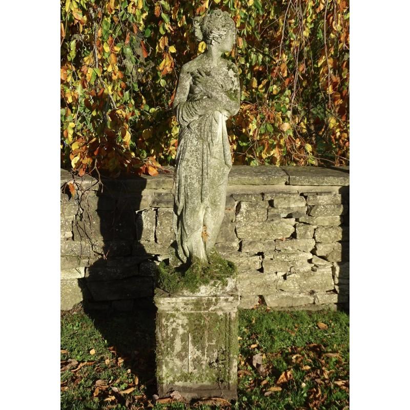 Weathered Statue Of Venus