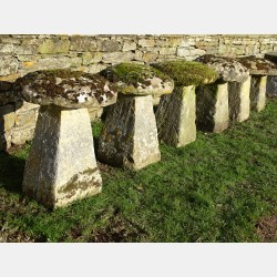 Antique Staddlestones (Set Of Six)