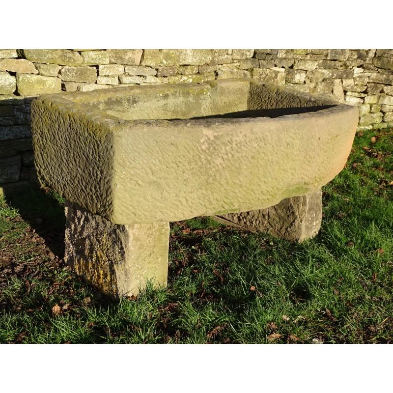 Large Stone Trough on Blocks