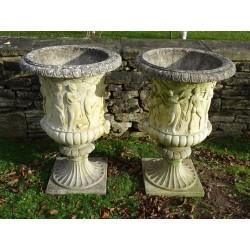Large Garden Urns (Pair)