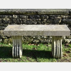 Limestone Garden Seat