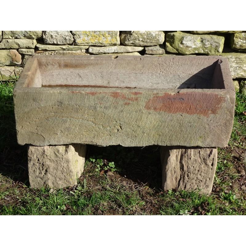 Stone Trough on Blocks