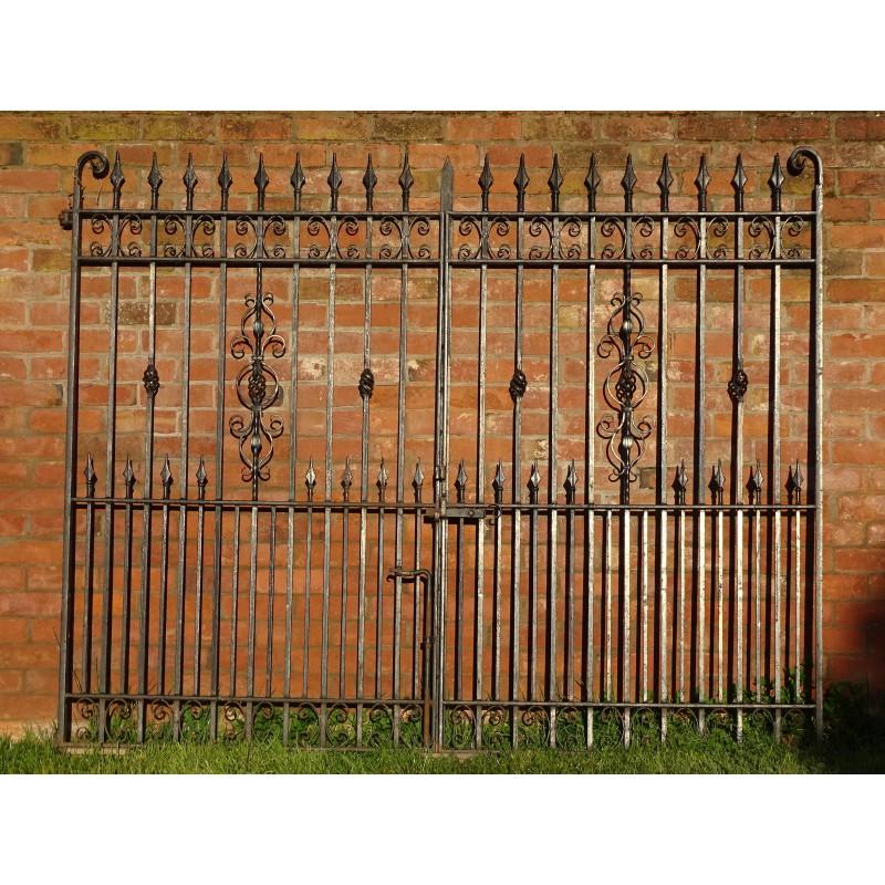 Wrought Iron Gates (Pair)