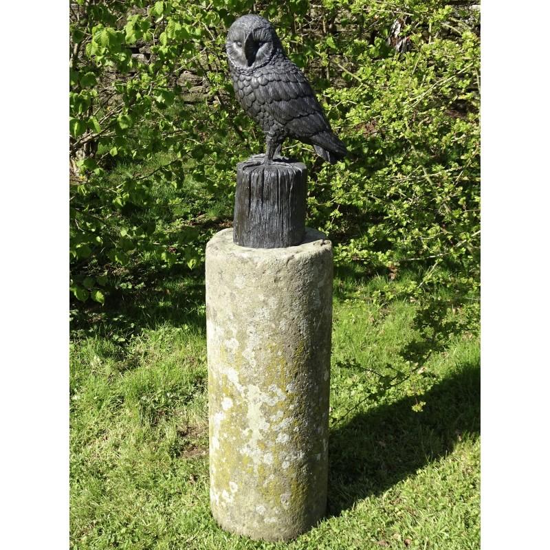 Bronze Owl Sculpture