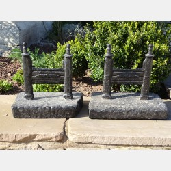 Cast Iron Bootscrapers (pair)