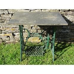 Vintage Singer Garden Table
