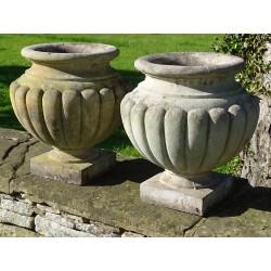 Haddonstone Garden Urns (Pair)