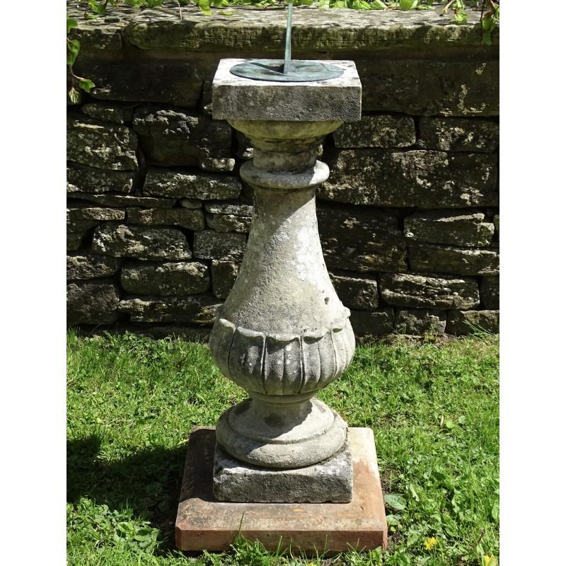 Antique Stone Sundial