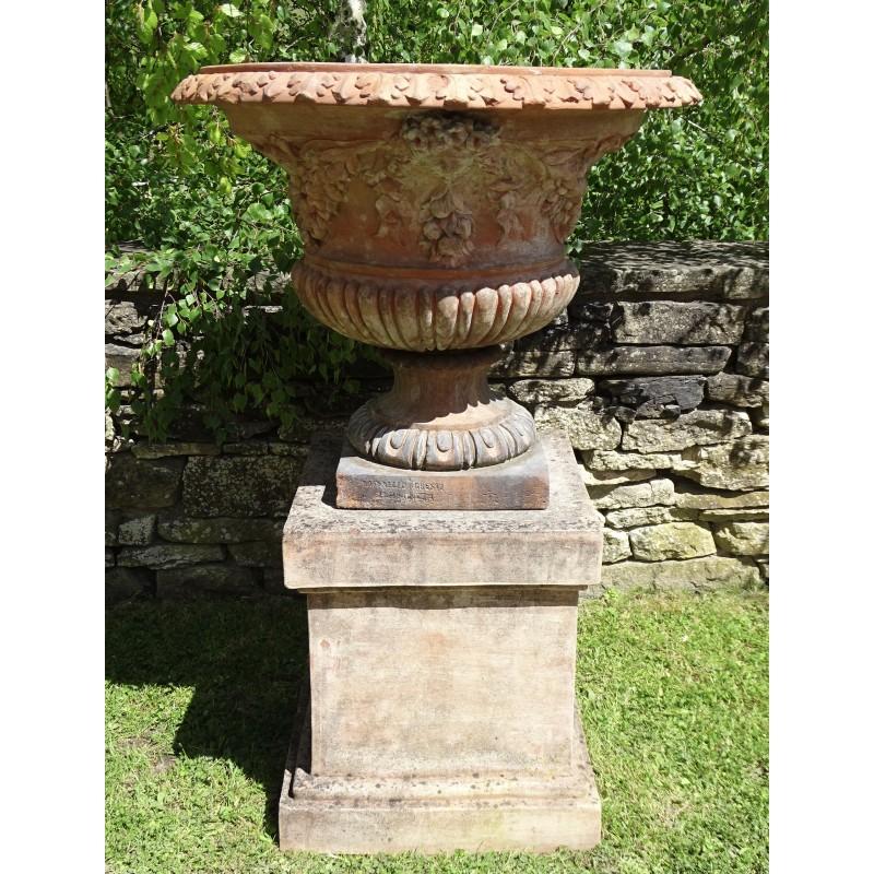 Antique Italian Terracotta Urn