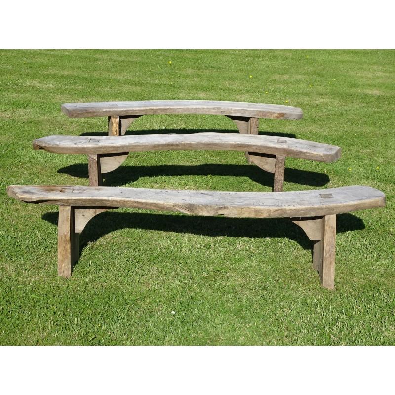 Weathered Oak Seats