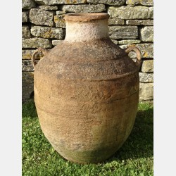 Antique Terracotta Oil Jar