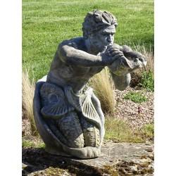 Large Merman Statue