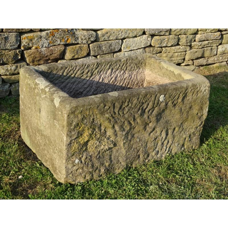 Rectangular Antique Stone Trough