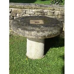 Salvaged Sandstone Table