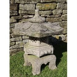 Weathered Granite Japanese Lantern