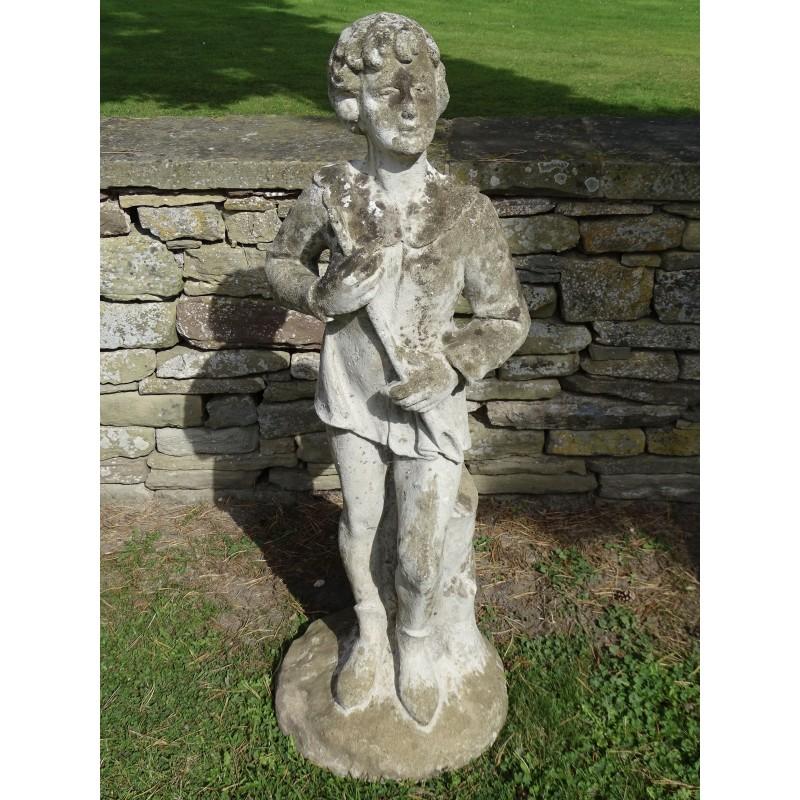 Vintage Statue Peter Pan