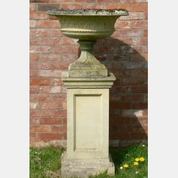 Weathered Haddonstone Urn