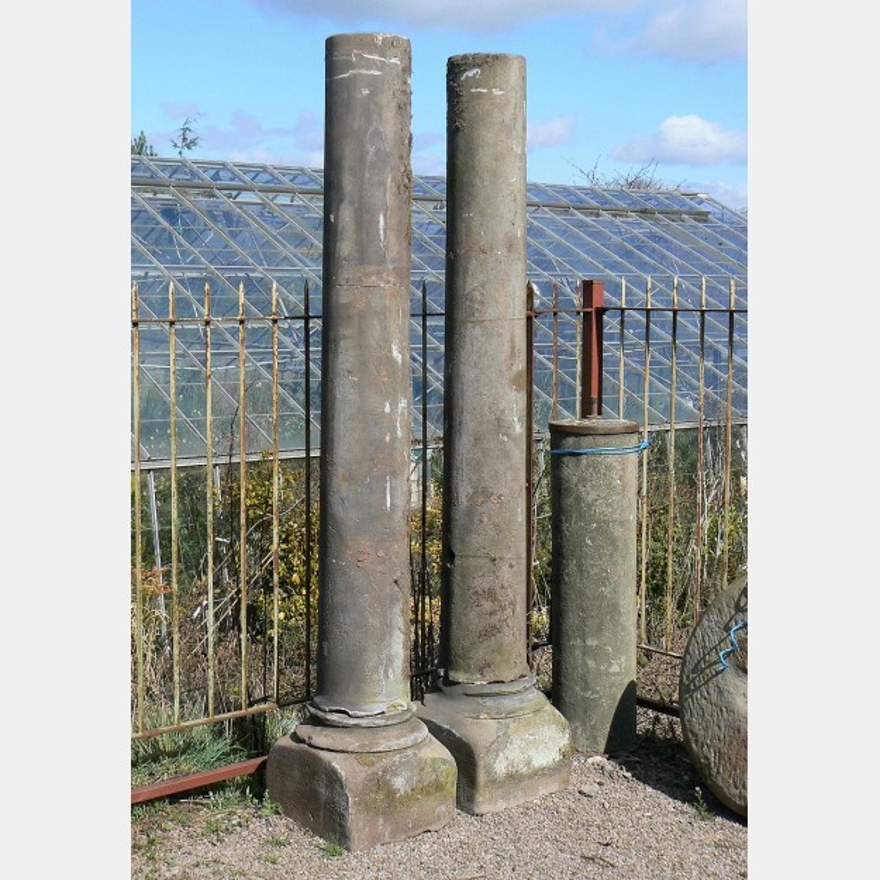 Old stone columns