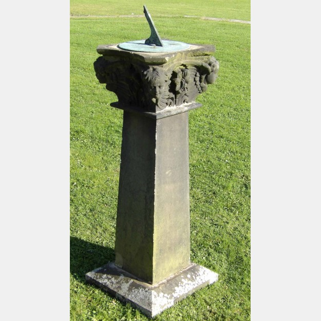 Antique Sandstone Sundial